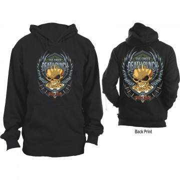 Five Finger Death Punch Trouble Hoodie