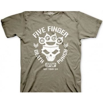 Five Finger Death Punch Knucklehead Army T-Shirt