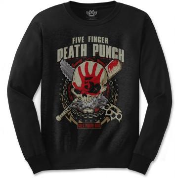 Five Finger Death Punch Zombie Kill Longsleeve T-Shirt