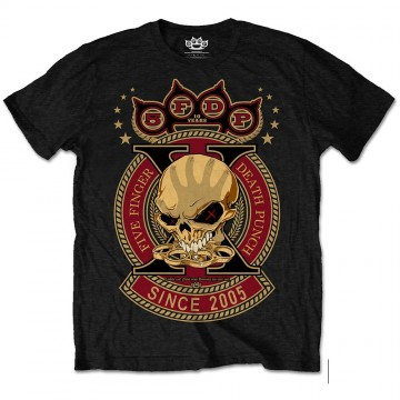 Five Finger Death Punch Anniversary T-Shirt