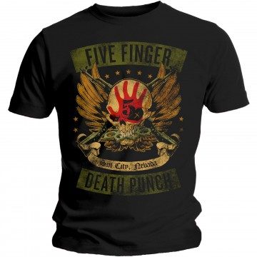 Five Finger Death Punch Locked & Loaded T-Shirt
