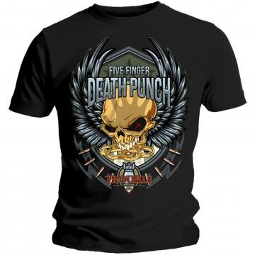 Five Finger Death Punch Trouble T-Shirt