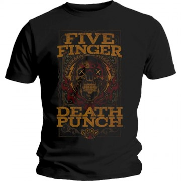 Five Finger Death Punch Wanted T-Shirt