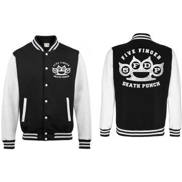 Five Finger Death Punch Knuckleduster Varsity Jacket
