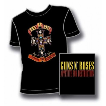 Guns N Roses (GnR) Appetite For Destructiont-Shirt