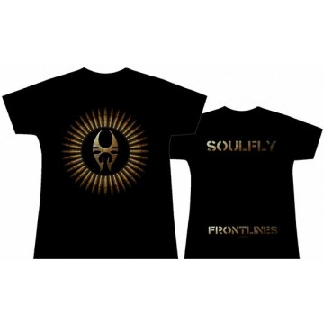 Soulfly Frontlines Girls T-Shirt.