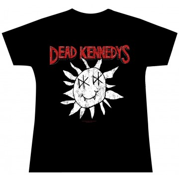 Dead Kennedys Smiley Face T-Shirt Womens