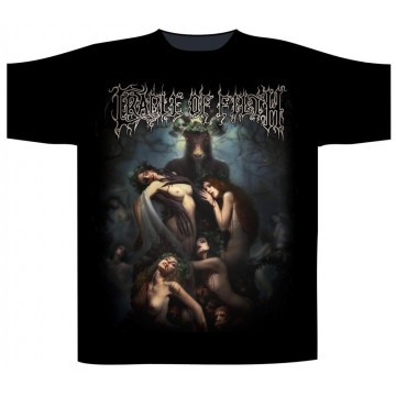 Cradle Of Filth Hammer Of The Witches Girls T-Shirt
