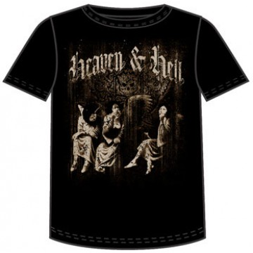 Heaven And Hell Sepia Angels T-Shirt