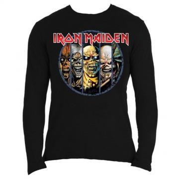 Iron Maiden Eddie Evolution Longsleeve Shirt