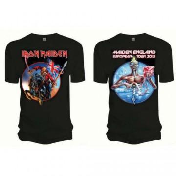 Iron Maiden Euro Tour T-Shirt
