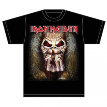 Iron Maiden Eddie Candle Finger T-Shirt