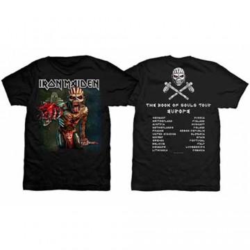Iron Maiden BOS Euro Tour 2016 T-Shirt