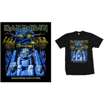 Iron Maiden Back In Time Mummy T-Shirt