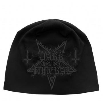 Dark Funeral Logo Discharge Beanie Hat