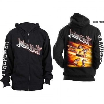 Judas Priest Firepower Zipped Hoodie