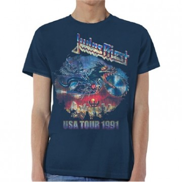 Judas Priest Painkiller U.S.A Tour 1991 T-Shirt