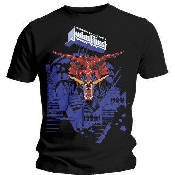 Judas Priest Defenders Blue T-Shirt