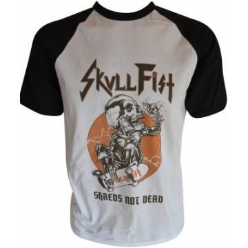 Skull Fist Shreds Not Dead T-Shirt