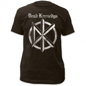 Dead Kennedys Distress Old English T-Shirt