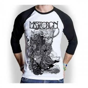 Mastodon Hermit Raglan Baseball Longsleeve