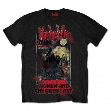 Murderdolls 80`s Horror Poster T-Shirt