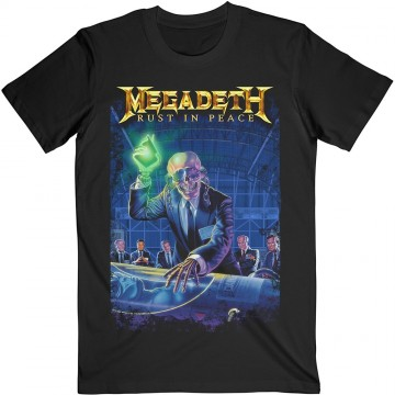 Megadeth Rust In Peace 30th Anniversary T-Shirt