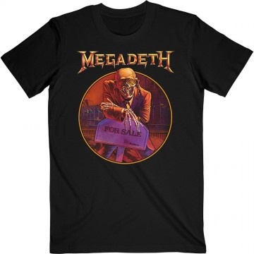 Megadeth Peace Sells... Track List T-Shirt