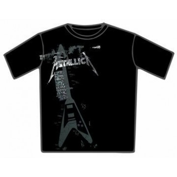 Metallica Faded Set List T-Shirt