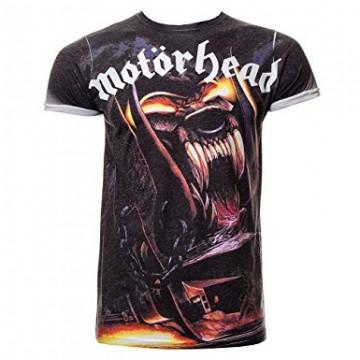 Motorhead Orgasmatron Allover Print T-Shirt