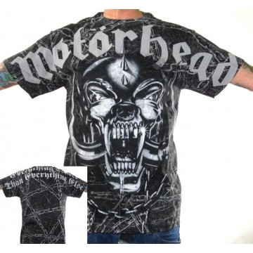 Motorhead Warpig Allover Print T-Shirt