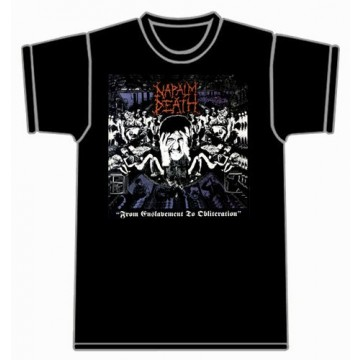 Napalm Death From Enslavement To Obliteration T-Shirt