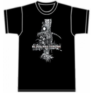 Blood Red Throne Come Death T-Shirt