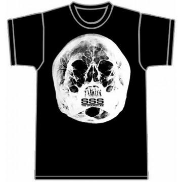 Short Sharp Shock (Sss) The Dividing Line (Skull) T-Shirt