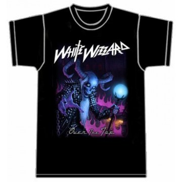 White Wizzard Over The Top T-Shirt