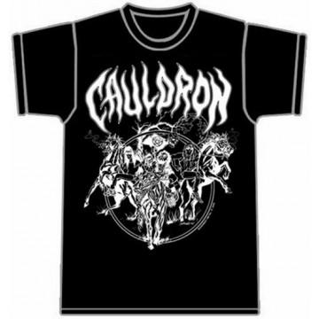 Cauldron Three Horsemen Black T-Shirt
