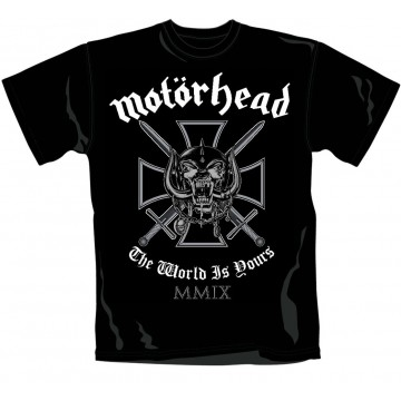 Motorhead Iron Cross T-shirt