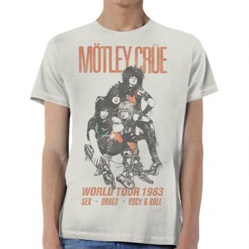 Motley Crue Vintage Sex Drugs R&R 83 T-Shirt