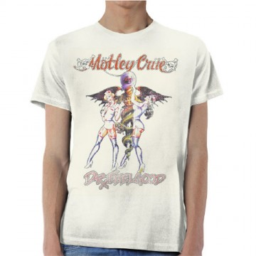 Motley Crue Vintage Dr Feelgood T-Shirt