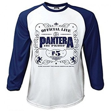 Pantera 101% Proof Raglan Baseball Longsleeve