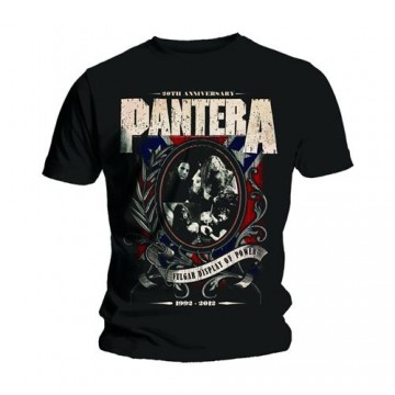 Pantera Anniversary Shield T-Shirt