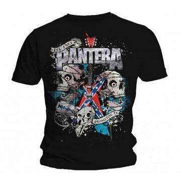 Pantera Texas Skull T-Shirt