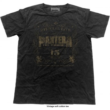 Pantera Vintage 101 Proof T-Shirt
