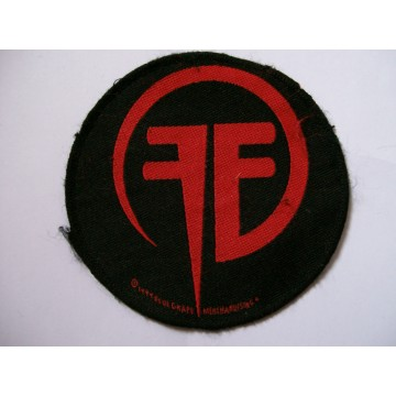 Fear Factory Circle Red FF Patch