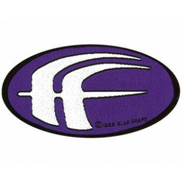 Fear Factory Oval Logo Purple Patch