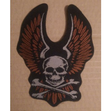 Skull & Wings Patch