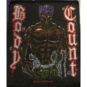 Body Count Logo Patch