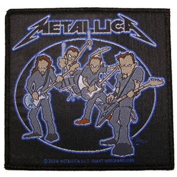 Metallica Cartoon Band Patch