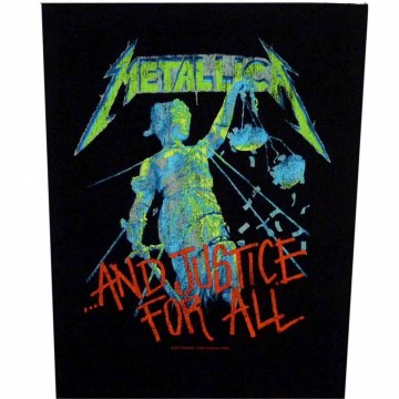Metallica And Justice For All Backpatch