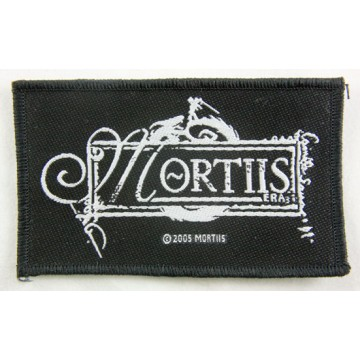 Mortiis Logo Patch